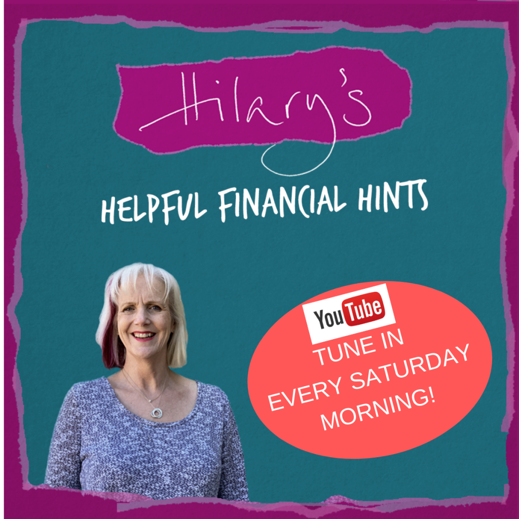 Hilary's helpful hints on youtube