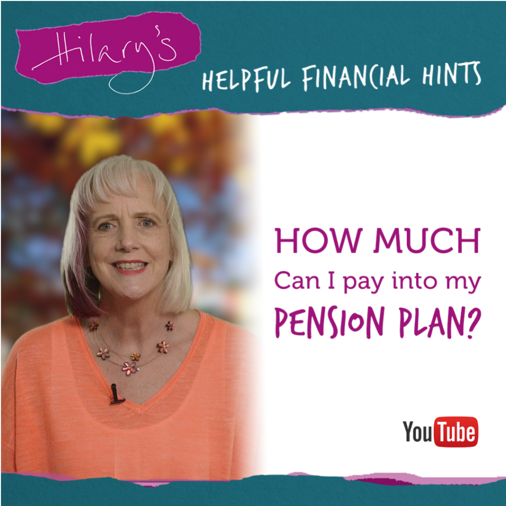 how much can i pay into my pension plan