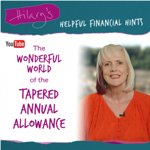 the wonderful world of the tapered annual allowance
